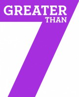 Greater Than 7 logo