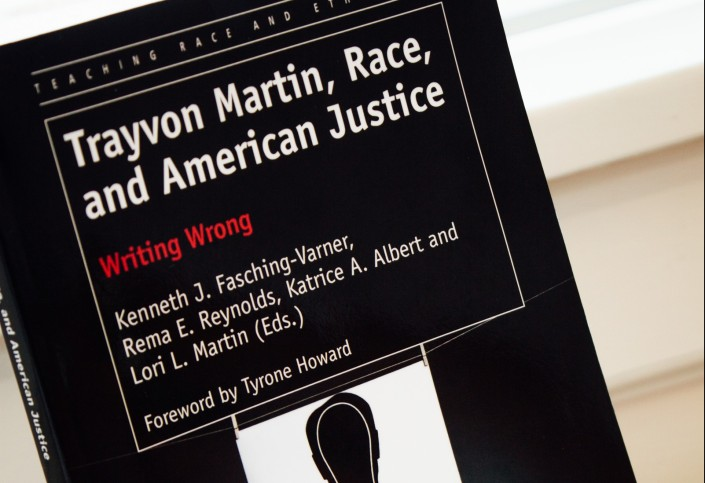 Cover of Trayvon Martin, Race, and American Justice: Writing Wrong book