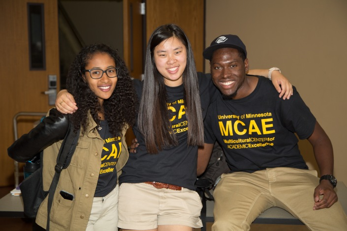 Students at 2015 MCAE Kick-Off