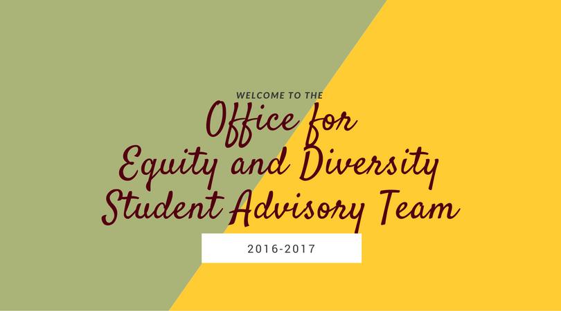 OED Student Advisory Team,2016-2017