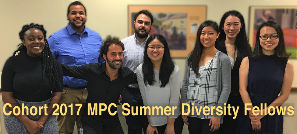 Members of the 2017 cohort of the MPC Summer Diversity Fellows Program.
